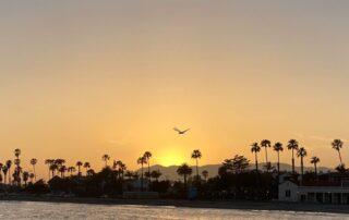 Santa Barbara beach side